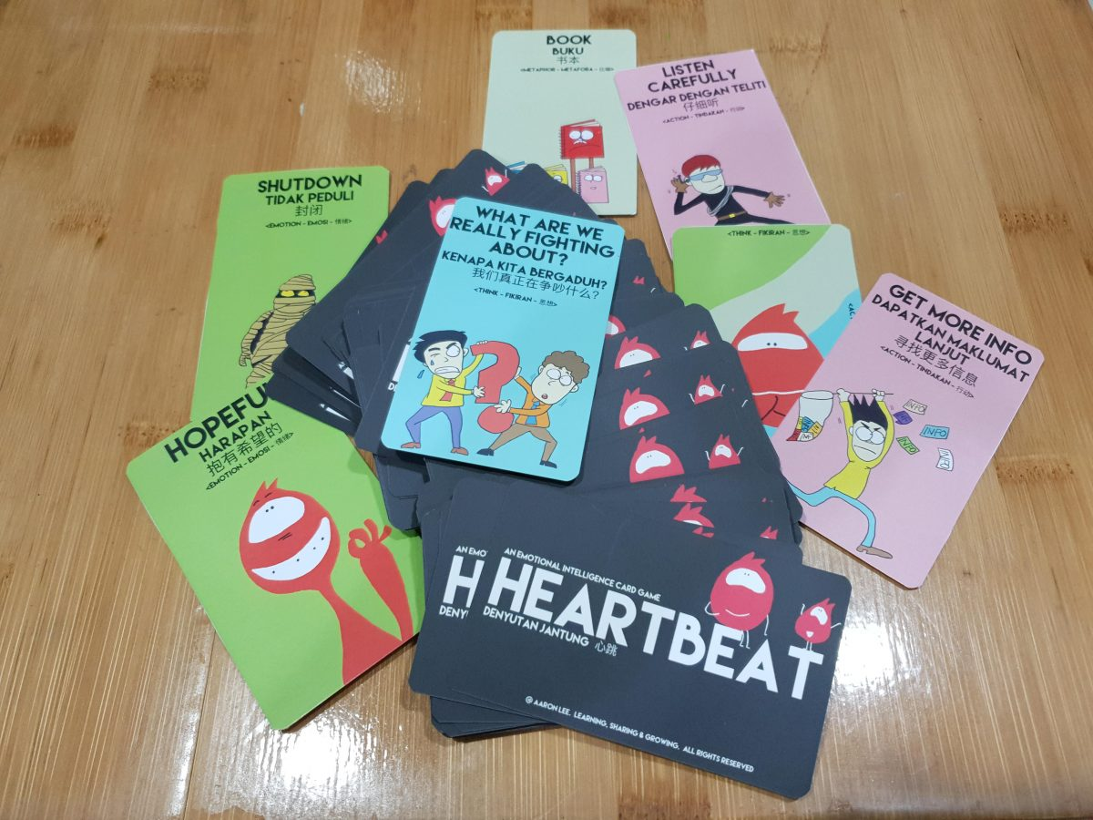 HEARTBEAT – An Emotional Intelligence Card Game Almost there…